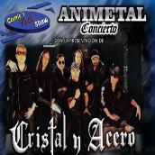 Cerrada/Pases Gratis para el concierto de Cristal y Acero y Cristal y Acero