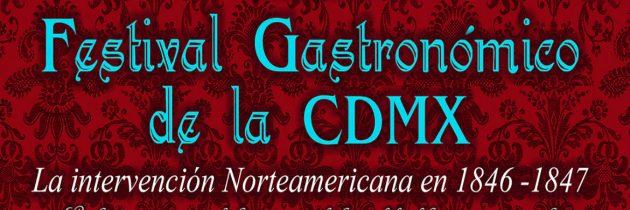 """Cenas temáticas en el """"Primer Festival Gastronómico CDMX"""""""