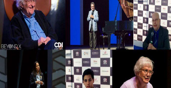 Noam Chomsky cierra con broche de oro la Ciudad de las Ideas 2017