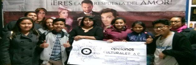 """Opciones Culturales A.C. lleva a familias de Azcapotzalco a disfrutar de """"Dorian Gray, El Musical"""""""