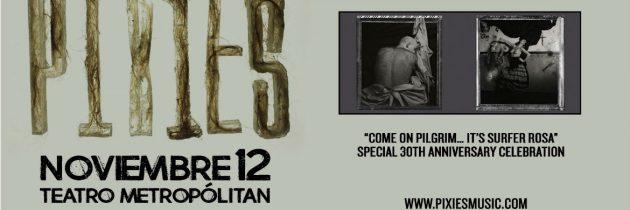 Pixies se presentará en la CDMX el próximo 12 de noviembre