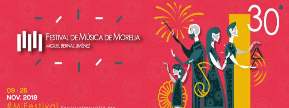 Celebra 30 años el Festival de Música de Morelia Miguel Bernal Jiménez