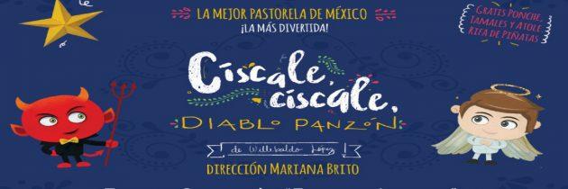 Císcale, Císcale Diablo Panzón fue la pastorela que madres de familia y sus hijos disfrutaron gracias a Opciones Culturales A.C.