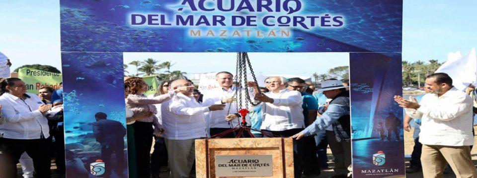 """Mazatlán tendrá un nuevo atractivo turístico: el nuevo """"Acuario del Mar de Cortés"""""""