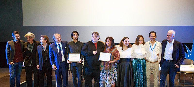 "Guillermo del Toro entregó la ""Beca Jenkins-Del Toro"" en el marco del FICG34"