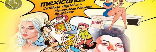 Presenta la Hemeroteca Nacional el catálogo de la Historieta Mexicana