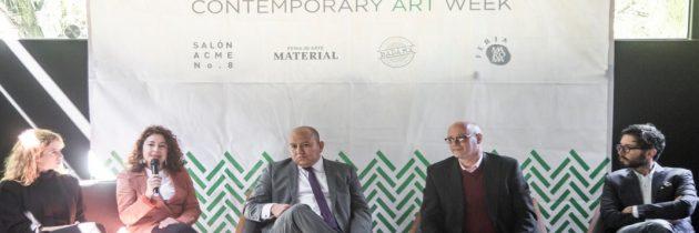 Artistas, curadores, galeristas y amantes del arte se reunirán en Mexico City Contemporary Art Week