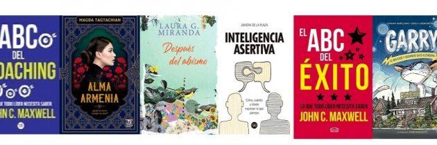 Reseñas de los libros de Editorial Vergara & Riba marzo