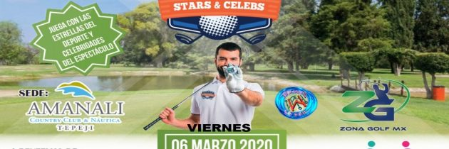 """Con gran éxito se llevó a cabo el 2º Torneo de golf """"celebridades y estrellas"""""""