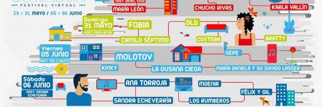 Se presentará el primer festival musical virtual de rock y pop latino
