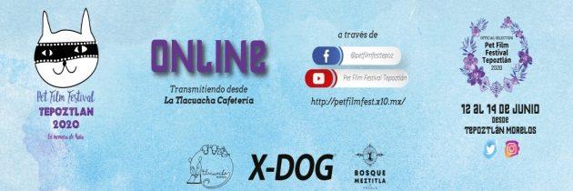 La tercera edición del Pet Film Festival Tepoztlán será vía streaming