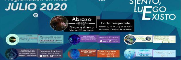 Sensorama ofrecerá sesiones virtuales durante el mes de julio