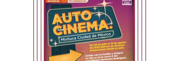El Autocinema Mixhuca, un espacio más para disfrutar del cine en la CDMX