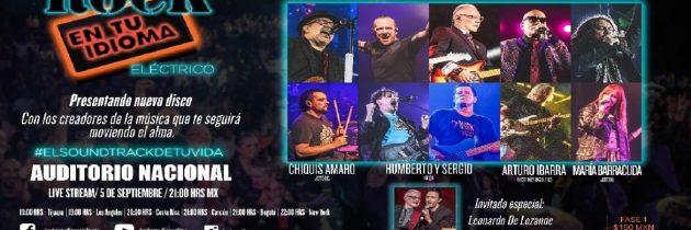 Rock En Tu Idioma llega con nuevo disco y Live streaming